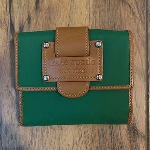Kate Spade Green Wallet Vintage